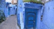 Drzwi w Chefchaouen